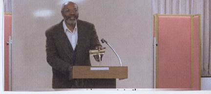 Abayomi Azikiwe, editor of the Pan-African News Wire, speaking in Cleveland on March 13, 2010 at a public forum on the history of U.S. foreign policy towards Haiti. by Pan-African News Wire File Photos