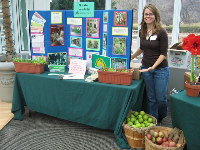 Emily Neustrom does outreach for GreenBridge.