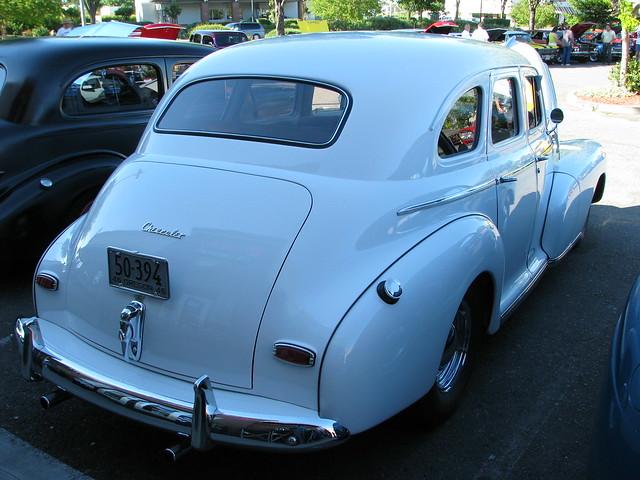 1946 chevrolet 4 door sedan custom 39 50 394 39 3 flickr for 1946 chevy 2 door sedan