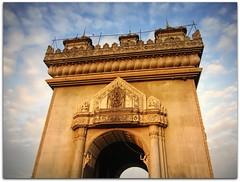 Arc de Triomphe of Laos | Putuxai Gate | Vientiane