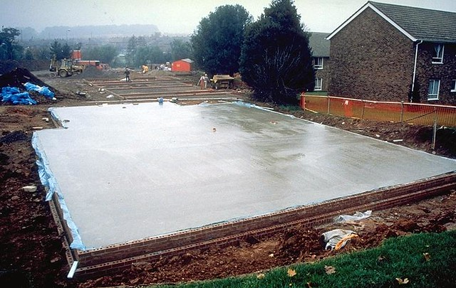 Completed Concrete Ground Floor Slab Flickr Photo Sharing