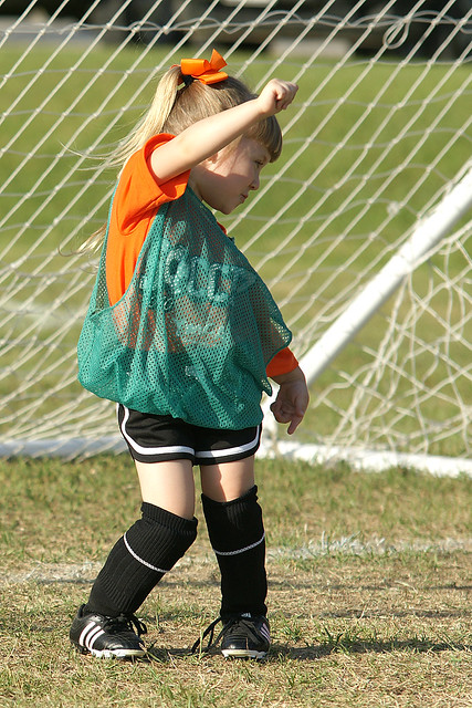 Goalie Dance