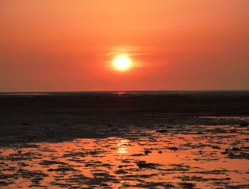 Sunset On Beach 4