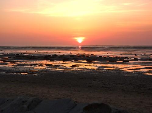 Sunset On Beach 12