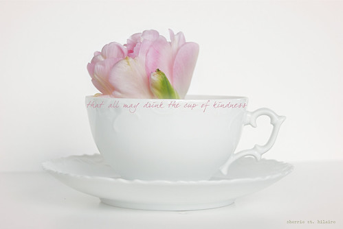 She Serves the Cup of Kindness