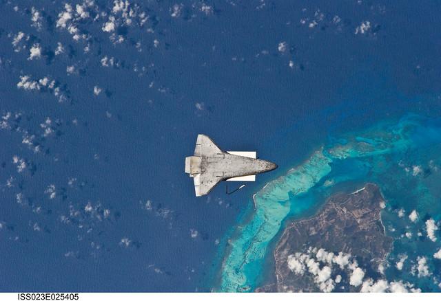 Isla de Providencia, Columbia, Nicaragua (NASA, International Space Station Science, 04/17/10)
