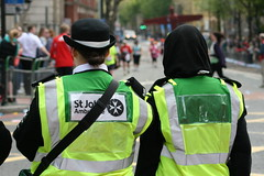 demonstration(0.0), protest(0.0), saint patrick's day(0.0), police(1.0), green(1.0), official(1.0),