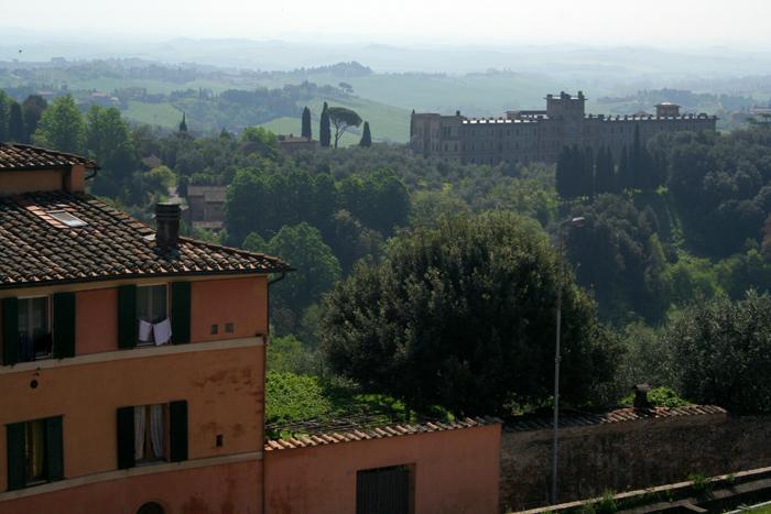 Paisaje de Siena