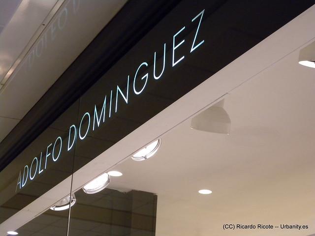 Header of Adolfo Dominguez