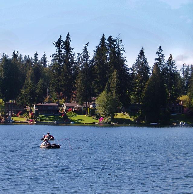 Pine lake fishing flickr photo sharing for Lake sammamish fishing