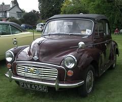 mid-size car(0.0), dkw 3=6(0.0), automobile(1.0), automotive exterior(1.0), vehicle(1.0), morris minor(1.0), compact car(1.0), antique car(1.0), sedan(1.0), classic car(1.0), vintage car(1.0), land vehicle(1.0),