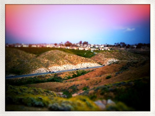 iPhoneography: 'La Sierra in Tilt'