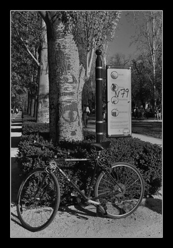 Parking-Bici (El Retiro-Madrid)