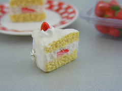 Strawberry Shortcake Pendant