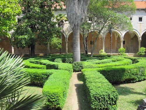 Lokrum- luostarinpuutarha