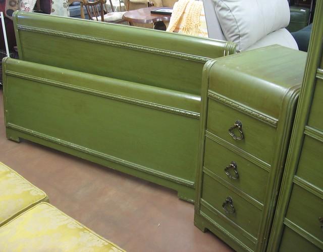Sold Fs Harmon Mfg Pre 60s Bedroom Set Flickr Photo Sharing