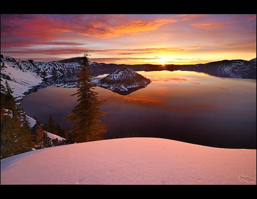 oregon sunrise volcano nationalpark nikon andrew craterlake kumler d3x 1635mmvrf4