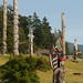 Small photo of Totem Poles, 'Namgis Cemetery, Alert Bay, BC