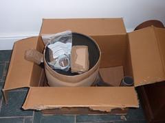 wood, cardboard, box,