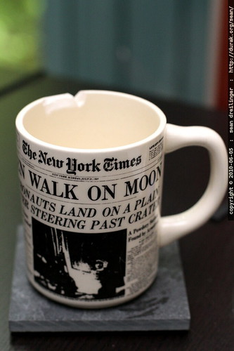 easy come, easy go   apollo 11 mug after 35 years