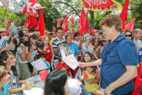 Brasília - DF - Dilma no Dia das Crianças