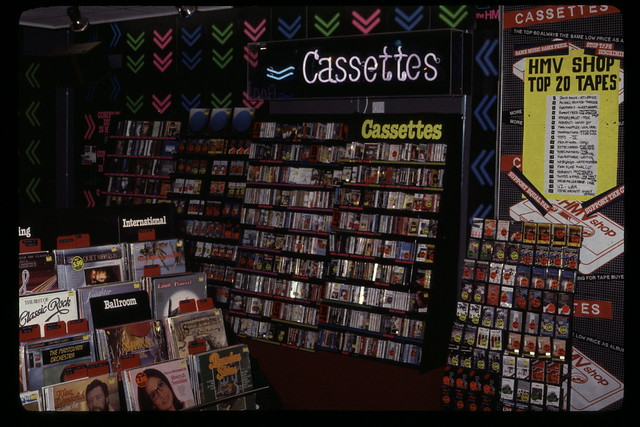 hmv Sheffield 1980s