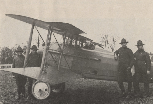 World War I Army Biplane
