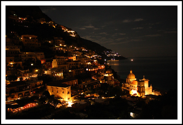 Positano illuminated