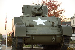 armored car(0.0), army(0.0), m113 armored personnel carrier(0.0), military(0.0), combat vehicle(1.0), military vehicle(1.0), weapon(1.0), vehicle(1.0), tank(1.0), self-propelled artillery(1.0), gun turret(1.0), churchill tank(1.0),