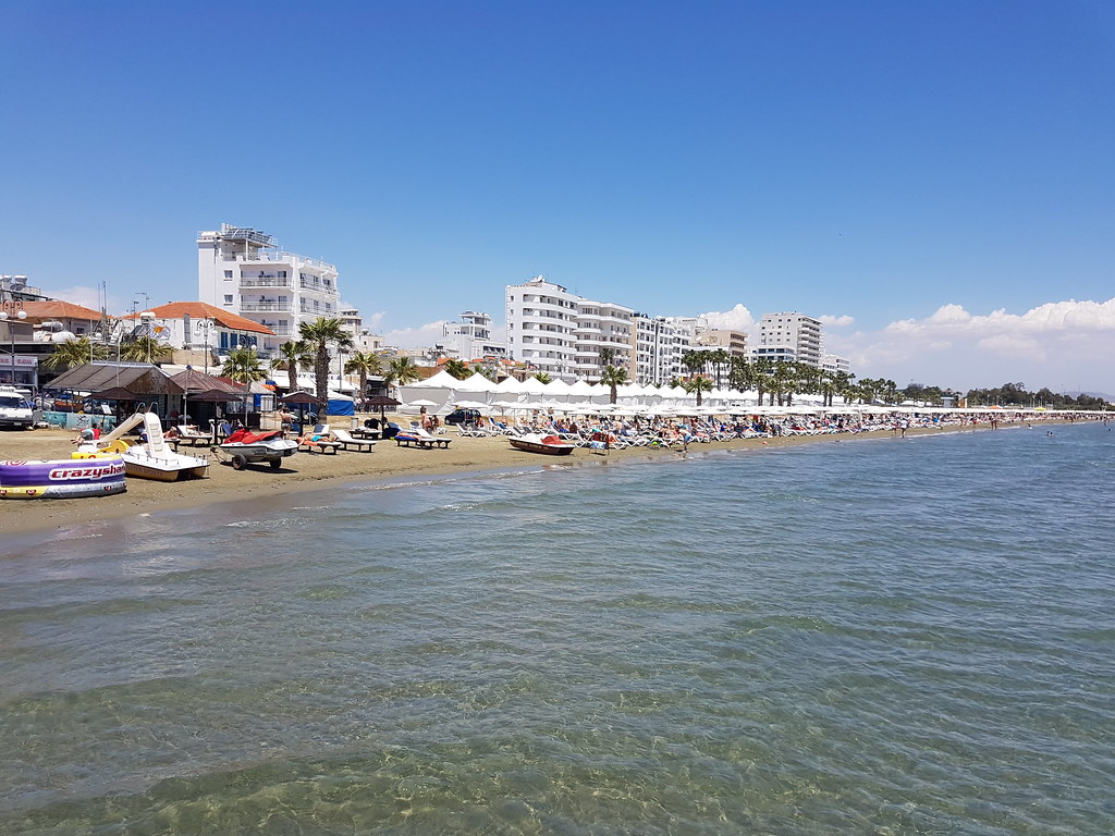 Finikoudes, Larnaca (Cyprus)