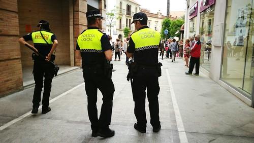 Policía Local en las calles
