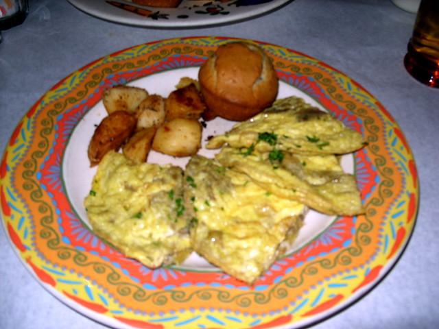 frittata | Artichoke and mushroom frittata at Pete's Tavern ...