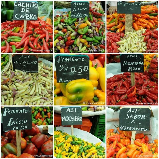 Chili Pepper Galore - Lima, Peru
