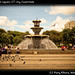 Fountain at main square, GT city, Guatemala