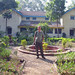 Chris at the pump-house by Nandur Madhyameshwar by john164694
