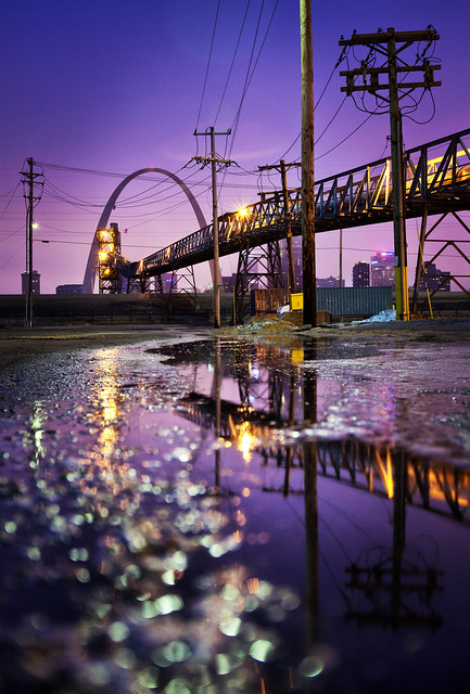 East St. Louis Reflections