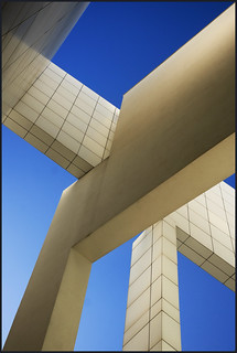 Spain - Barcelona - MACBA - Abstract composition v3