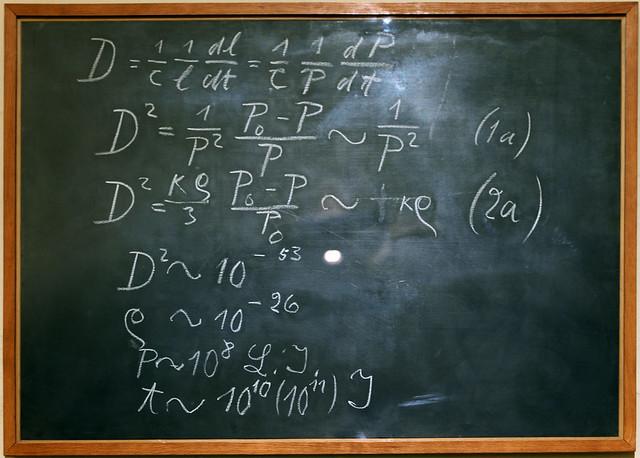 Einstein's Blackboard