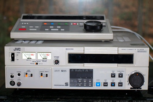 mistaken identity   JVC BR S500U (player) as JVC BR S800U (recorder)    MG 3989
