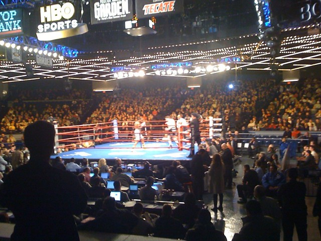 Hbo Sports Boxing After Dark At Madison Square Garden Flickr Photo Sharing