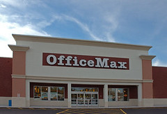 OfficeMax Store Exterior
