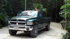 automobile(1.0), automotive exterior(1.0), pickup truck(1.0), wheel(1.0), vehicle(1.0), truck(1.0), ram(1.0), off-road vehicle(1.0), bumper(1.0), land vehicle(1.0), motor vehicle(1.0),