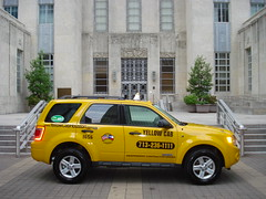 Yellow Cab Houston Hybrid Taxi