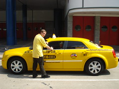 Yellow Cab Houston Taxi Clean Cab