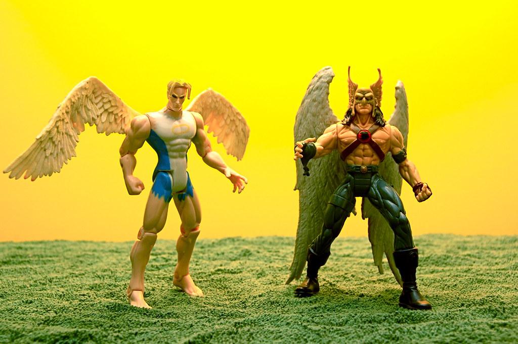 Angel vs. Hawkman (36/365)