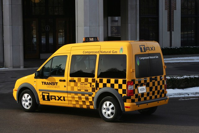 Ford Transit CNG Taxi