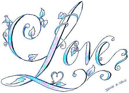 love tattoo design by denise a wells love 2010 flickr photo sharing. Black Bedroom Furniture Sets. Home Design Ideas