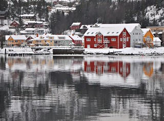 Red house in Namsos