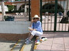 Having a daytime snack in downtown Puerto Vallarta by Yvon from Ottawa