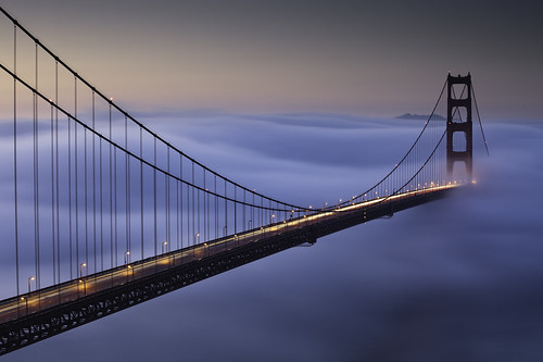 sanfrancisco california longexposure bridge winter color fog sunrise traffic explore goldengatebridge lee bayarea marincounty february frontpage marinheadlands batteryspencer touristspot 2010 trifecta ef70200f4l lateforwork crazybeautiful oddcomposition canon5dmarkii 9ndgrad notthatlongofalongexposure
